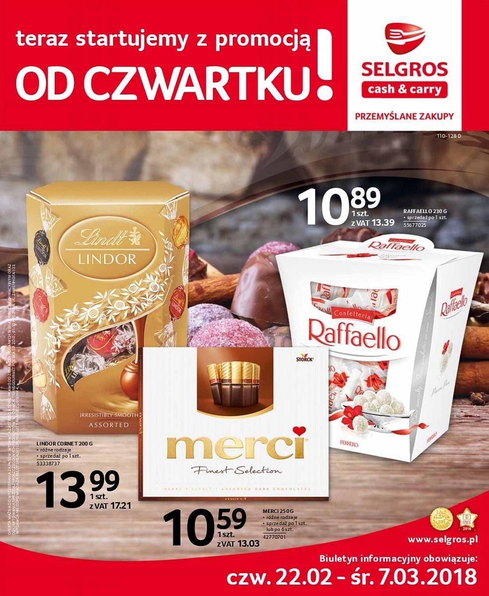 Gazetka promocyjna Selgros do 07/03/2018 str.0