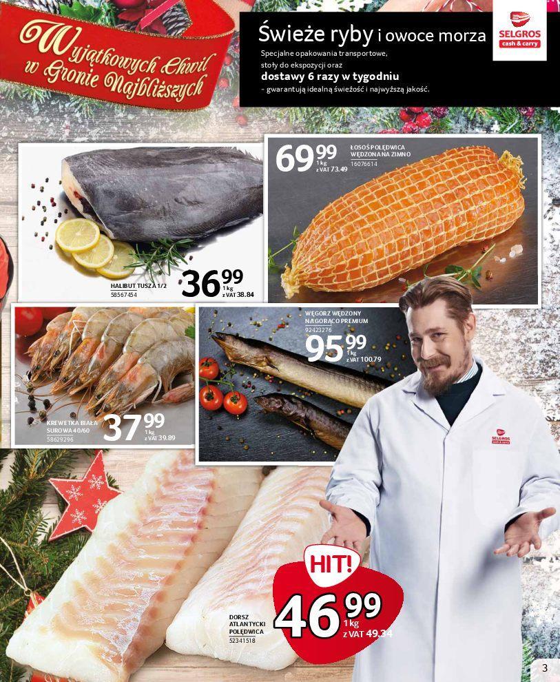 Gazetka promocyjna Selgros do 24/12/2018 str.3