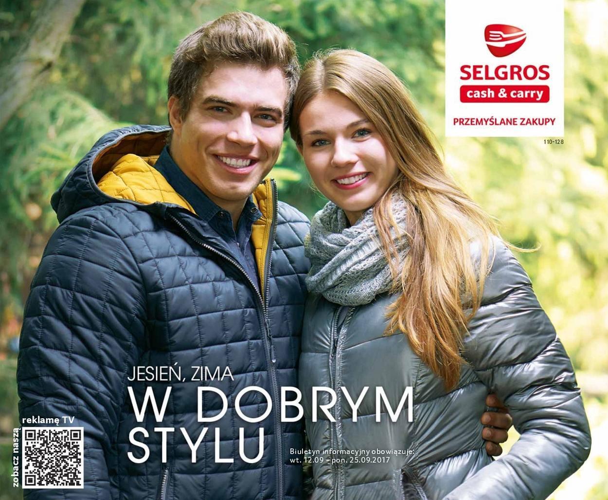 Gazetka promocyjna Selgros do 25/09/2017 str.0