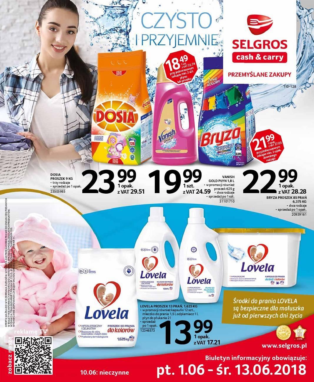 Gazetka promocyjna Selgros do 13/06/2018 str.0
