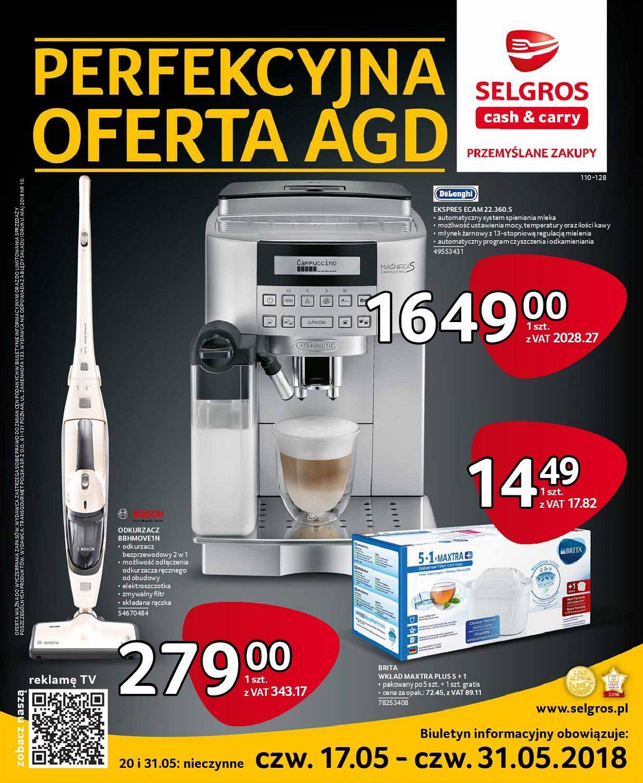 Gazetka promocyjna Selgros do 31/05/2018 str.0