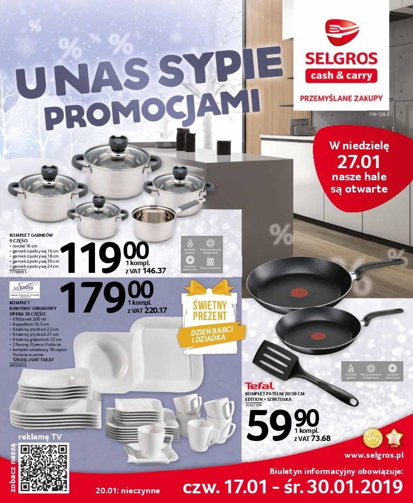 Gazetka promocyjna Selgros do 30/01/2019 str.0