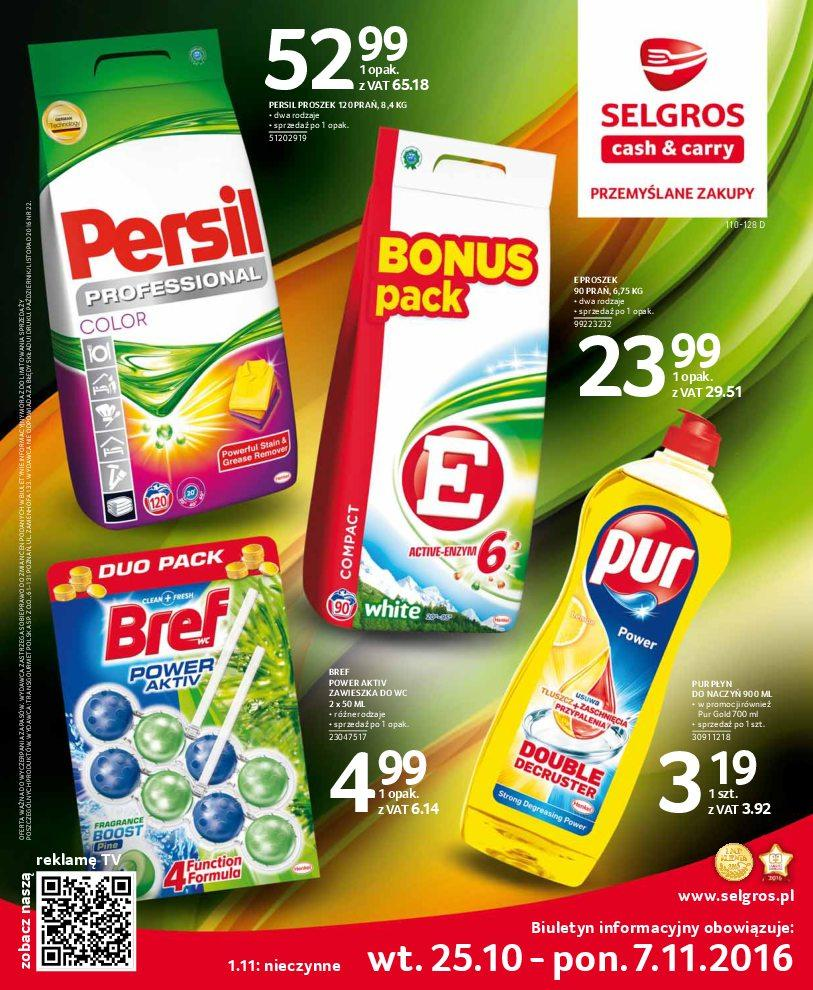 Gazetka promocyjna Selgros do 07/11/2016 str.0