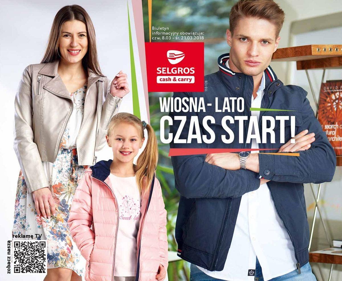 Gazetka promocyjna Selgros do 21/03/2018 str.0