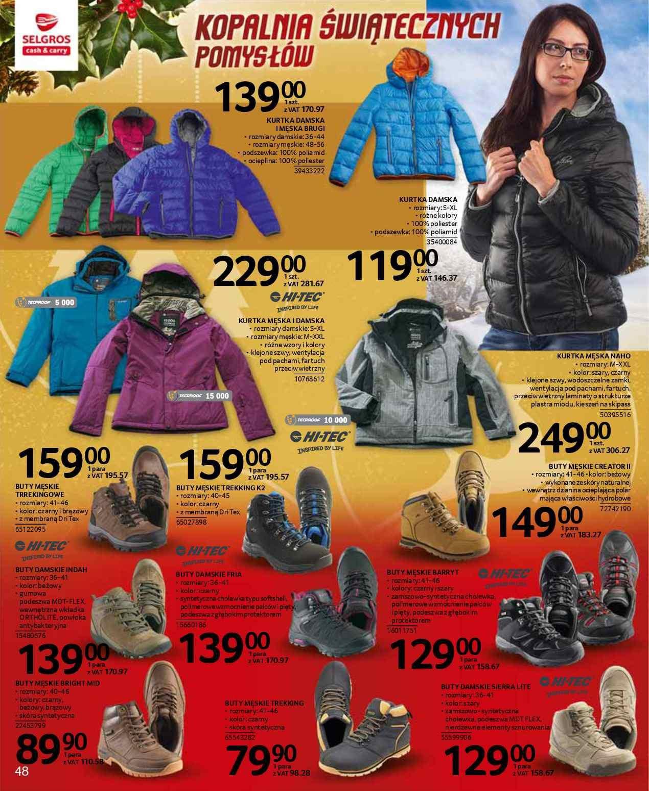 Promocje: Buty turystyczne GazetkaPromocyjna24