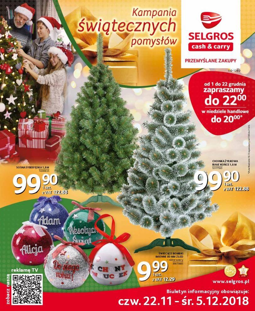 Gazetka promocyjna Selgros do 05/12/2018 str.0