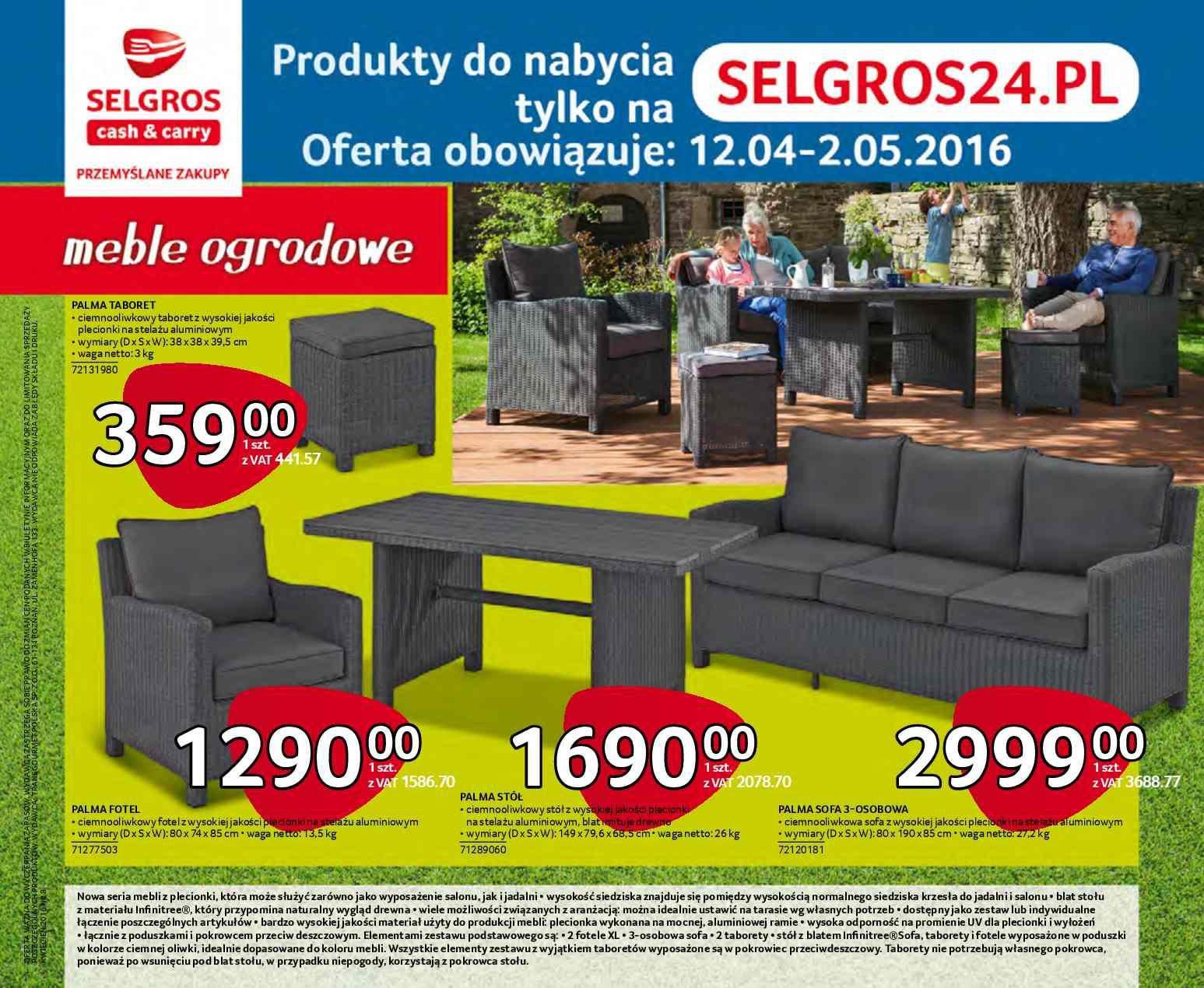 Gazetka promocyjna Selgros do 02/05/2016 str.0
