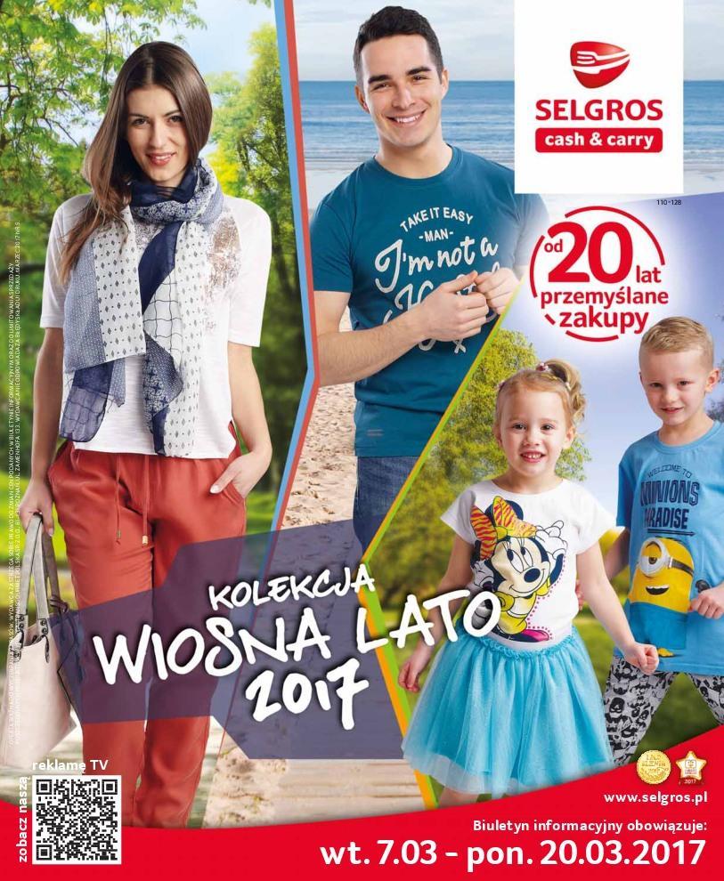 Gazetka promocyjna Selgros do 20/03/2017 str.0