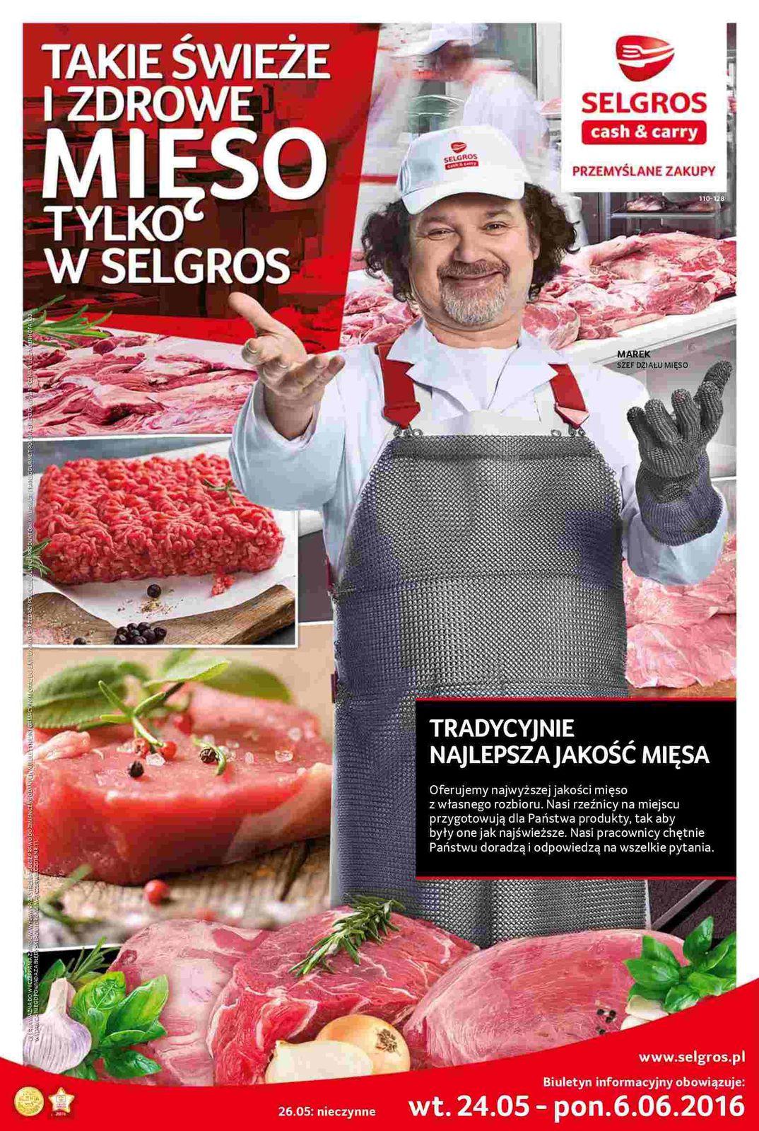 Gazetka promocyjna Selgros do 06/06/2016 str.0