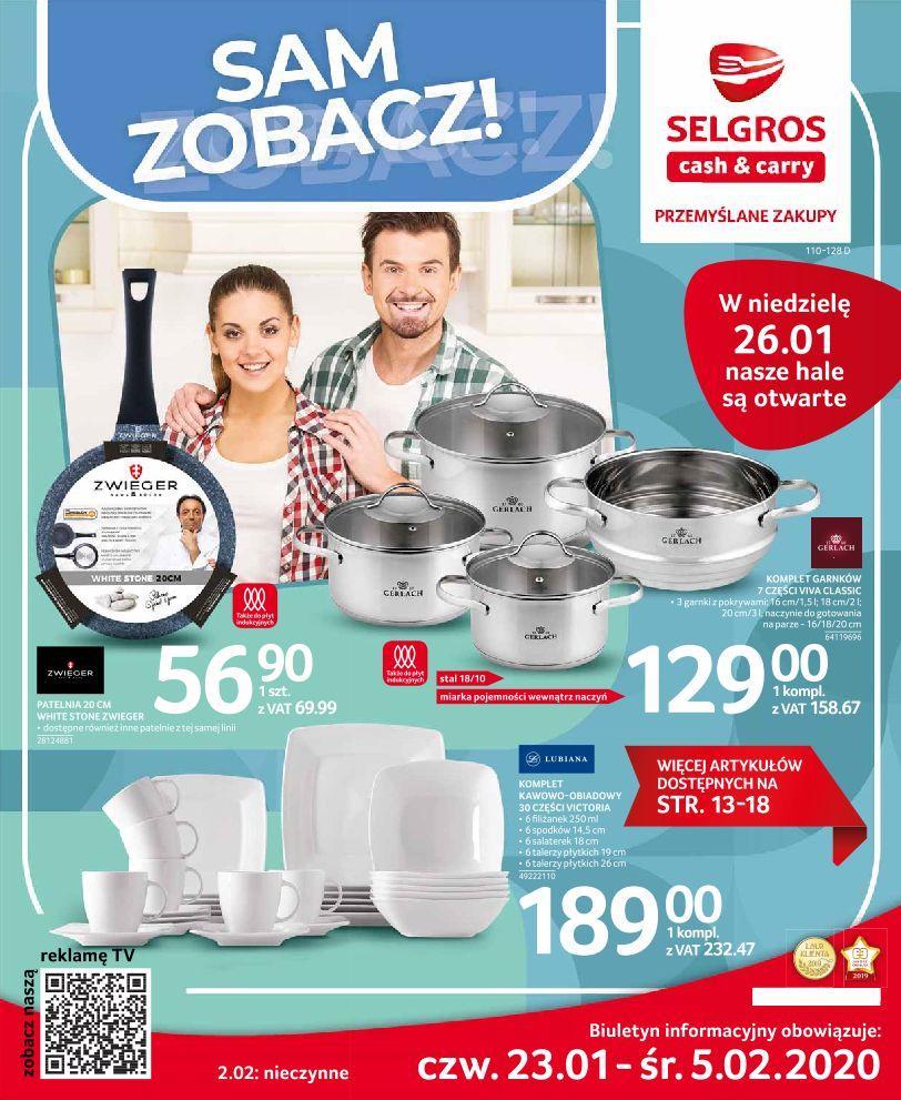 Gazetka promocyjna i reklamowa Selgros, Oferta przemysłowa
