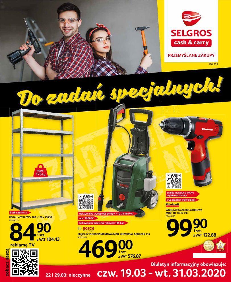 Gazetka promocyjna Selgros do 31/03/2020 str.0