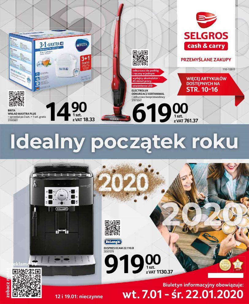 Gazetka promocyjna Selgros do 22/01/2020 str.0