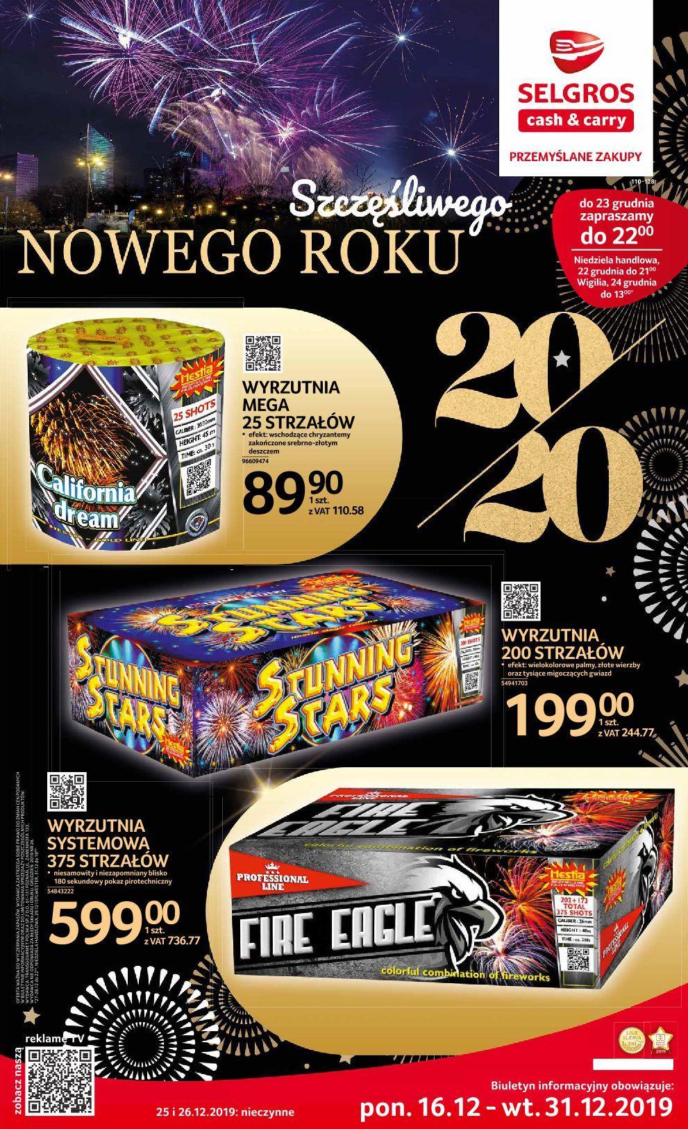 Gazetka promocyjna Selgros do 31/12/2019 str.0