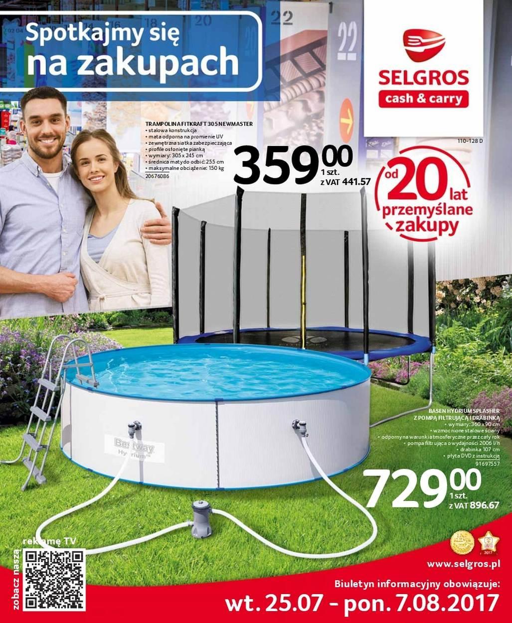 Gazetka promocyjna Selgros do 07/08/2017 str.0
