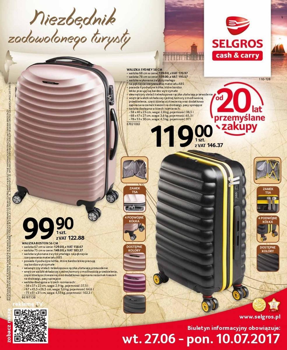 Gazetka promocyjna Selgros do 10/07/2017 str.0