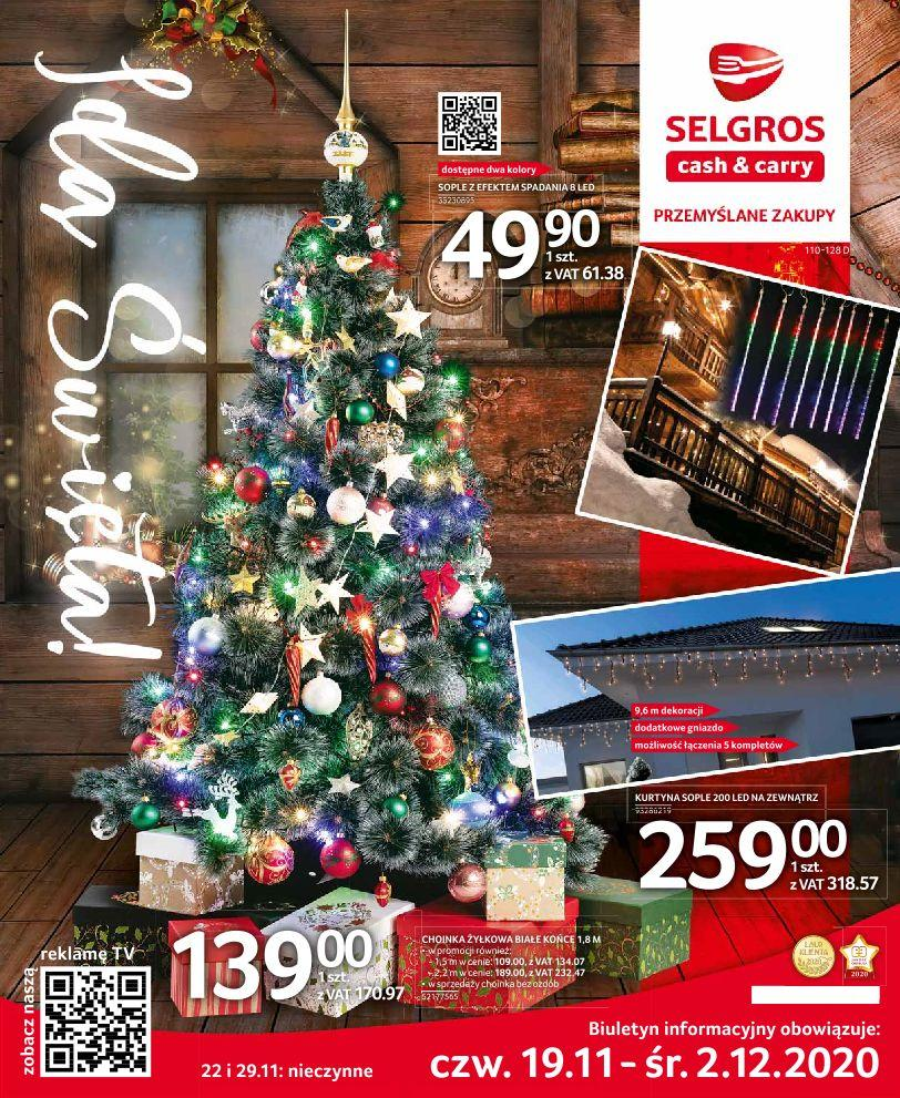 Gazetka promocyjna Selgros do 02/12/2020 str.1