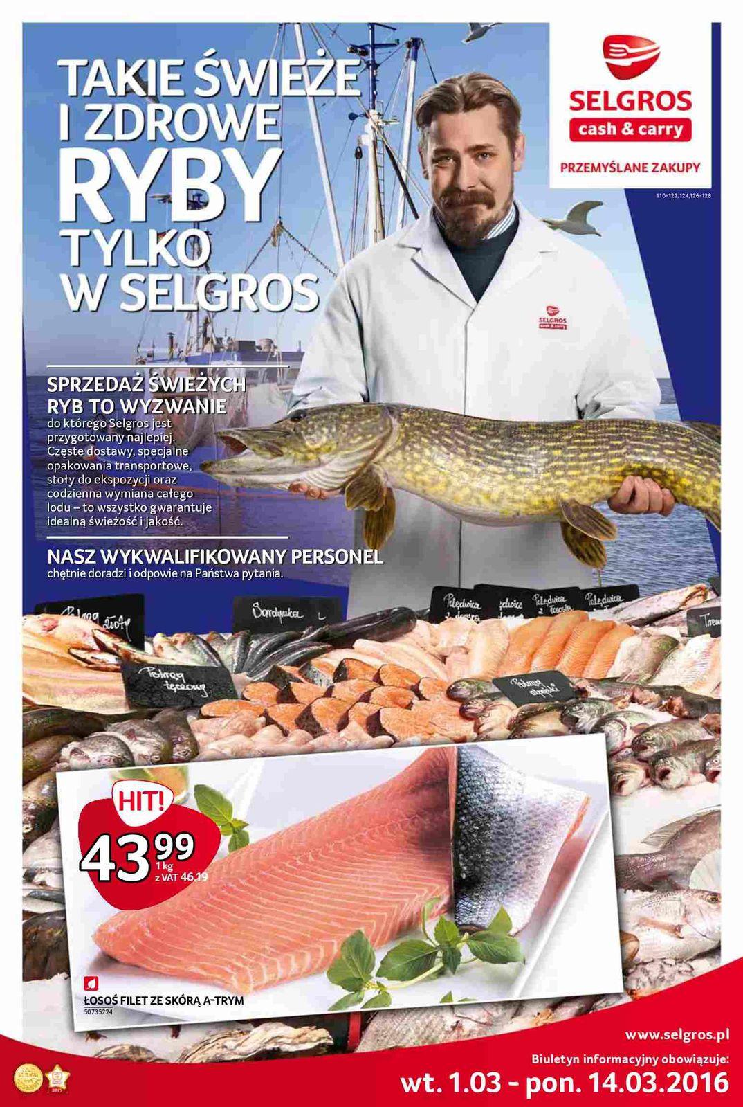 Gazetka promocyjna Selgros do 14/03/2016 str.0