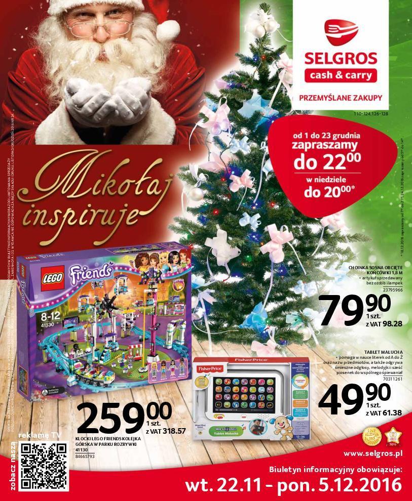 Gazetka promocyjna Selgros do 05/12/2016 str.0