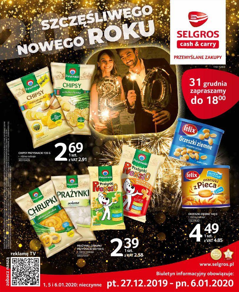 Gazetka promocyjna Selgros do 06/01/2020 str.0