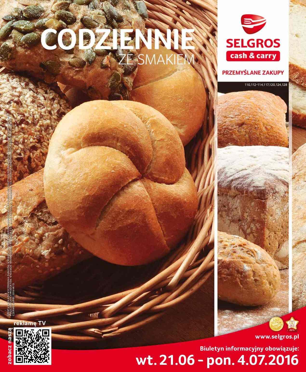 Gazetka promocyjna Selgros do 04/07/2016 str.0