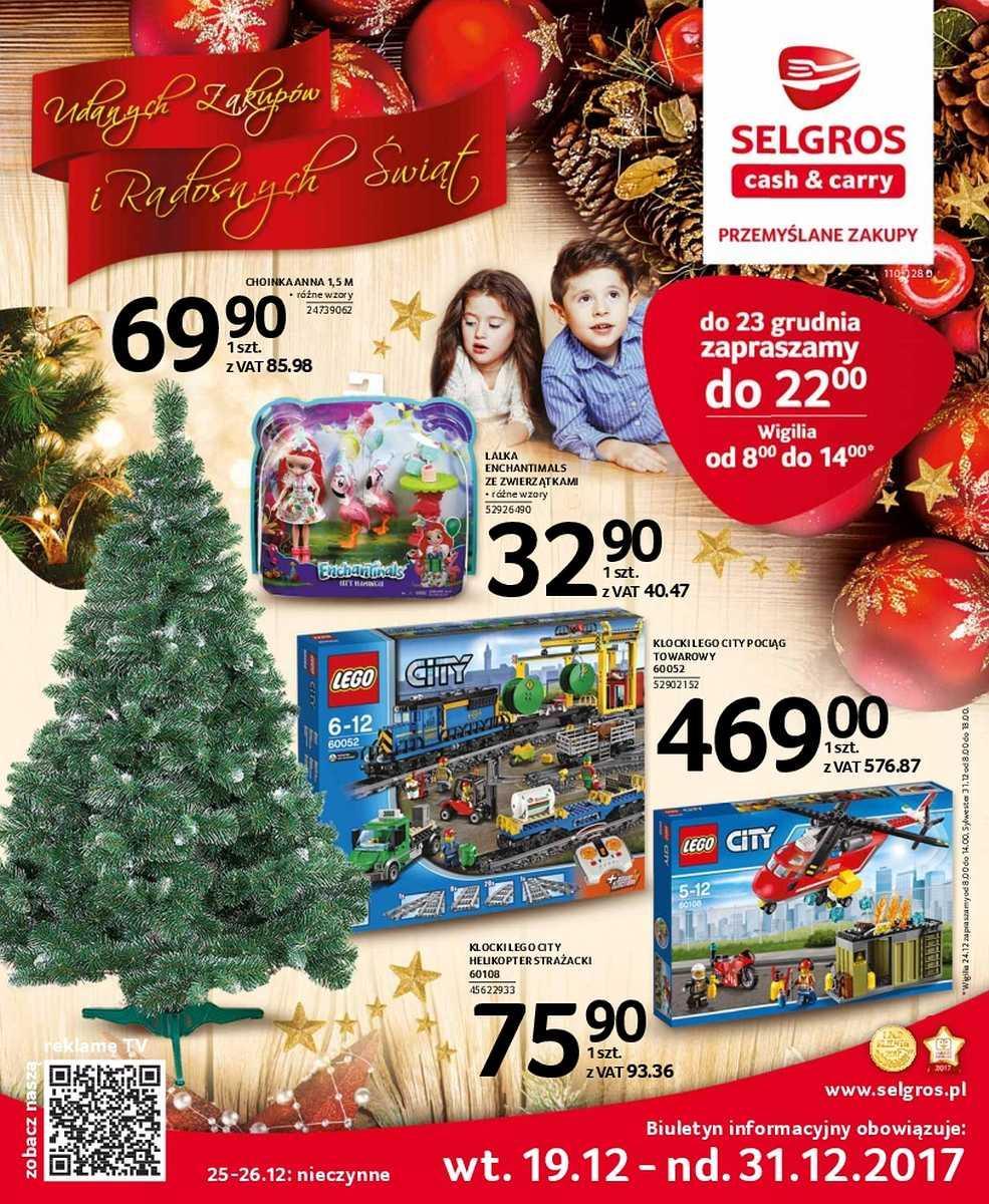 Gazetka promocyjna Selgros do 31/12/2017 str.0