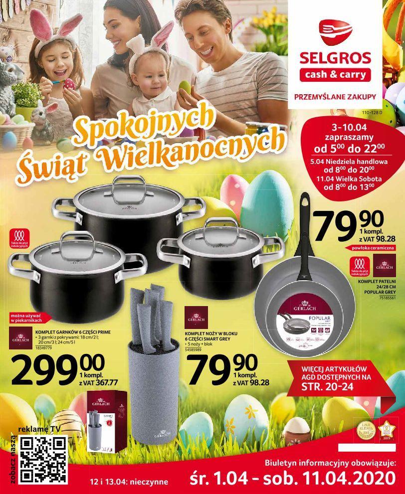Gazetka promocyjna Selgros do 11/04/2020 str.0