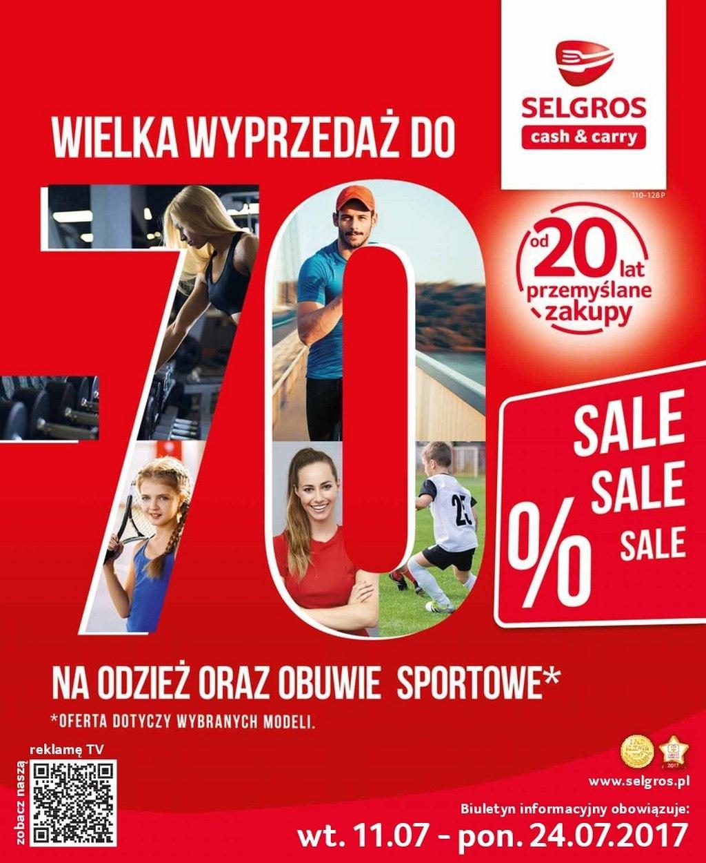 Gazetka promocyjna Selgros do 24/07/2017 str.0