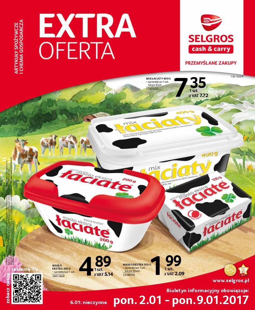 Gazetka promocyjna Selgros do 09/01/2017 str.0