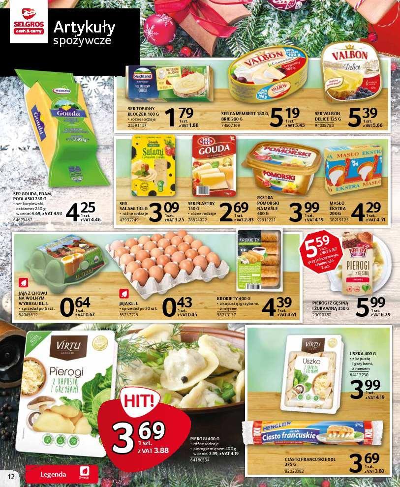 Gazetka promocyjna Selgros do 16/12/2018 str.12