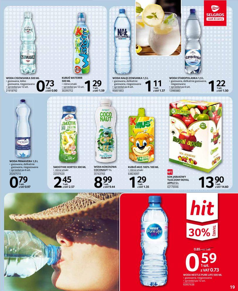 Gazetka promocyjna Selgros do 14/08/2019 str.18