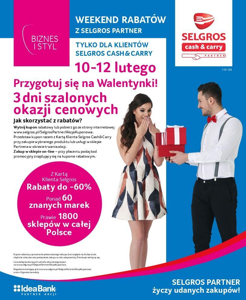 Gazetka promocyjna Selgros do 12/02/2017 str.0