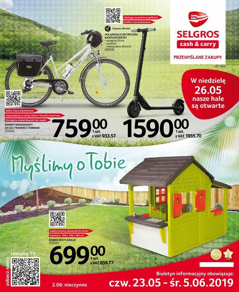 Gazetka promocyjna Selgros do 05/06/2019 str.0