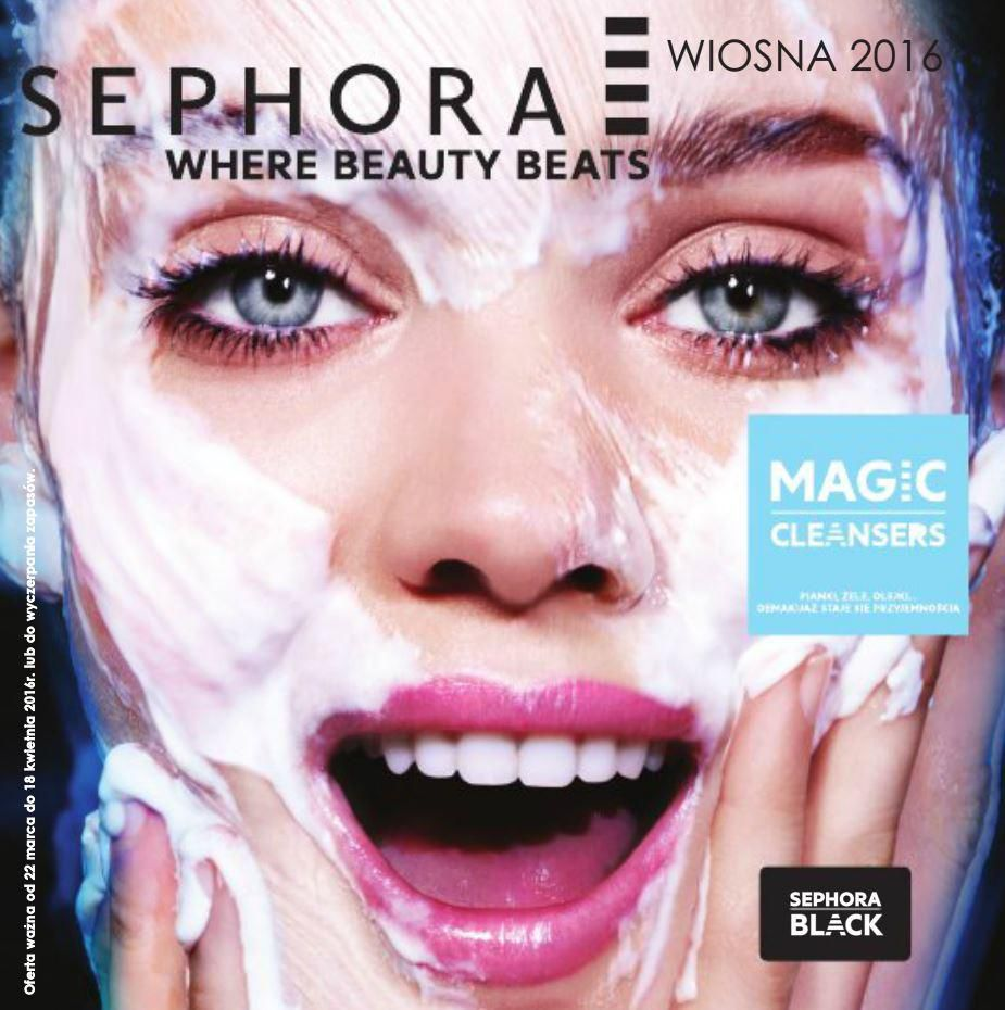 Gazetka promocyjna Sephora do 18/04/2016 str.1