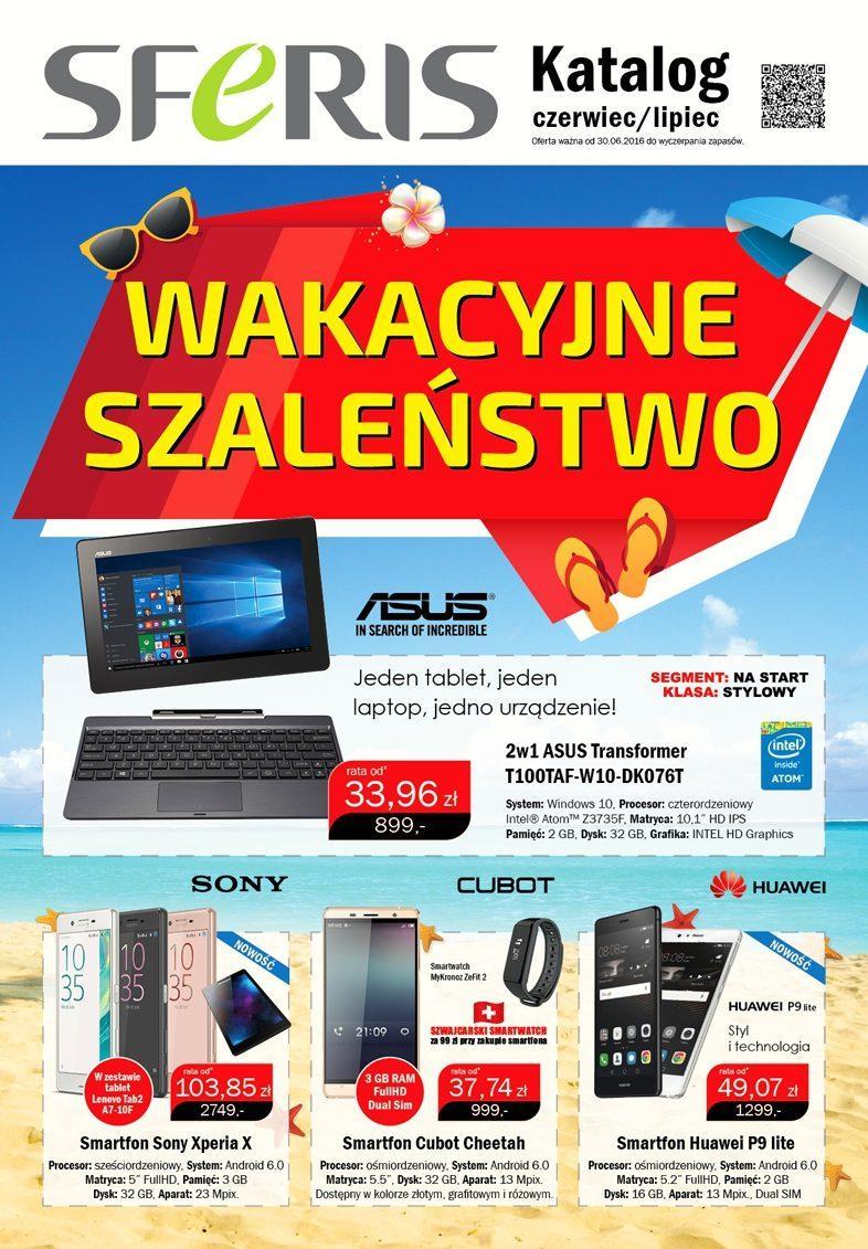Gazetka promocyjna Sferis do 31/07/2016 str.1