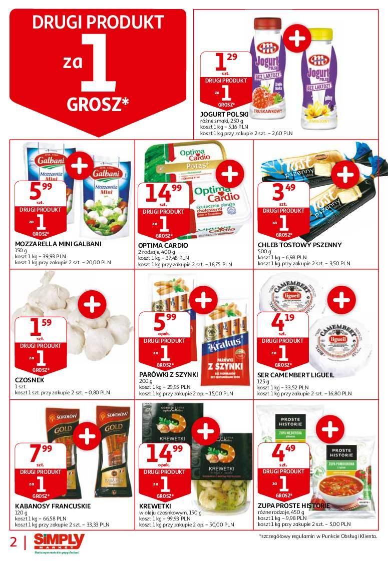 Gazetka promocyjna Simply Market do 03/10/2018 str.1