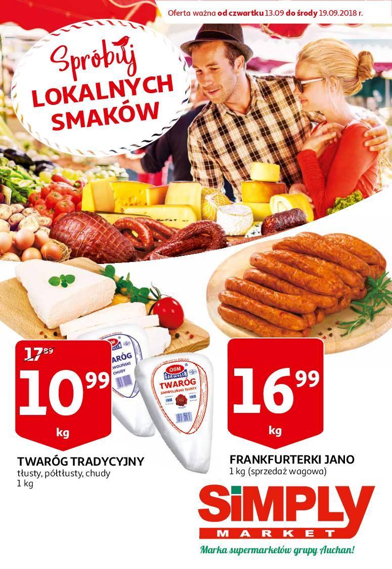 Gazetka promocyjna Simply Market do 19/09/2018 str.1
