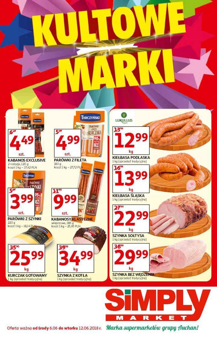 Gazetka promocyjna Simply Market do 12/06/2018 str.0