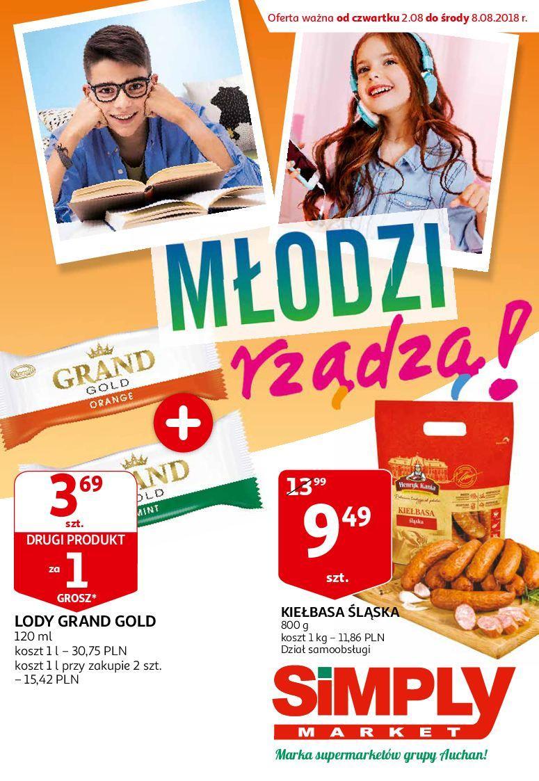 Gazetka promocyjna Simply Market do 08/08/2018 str.0