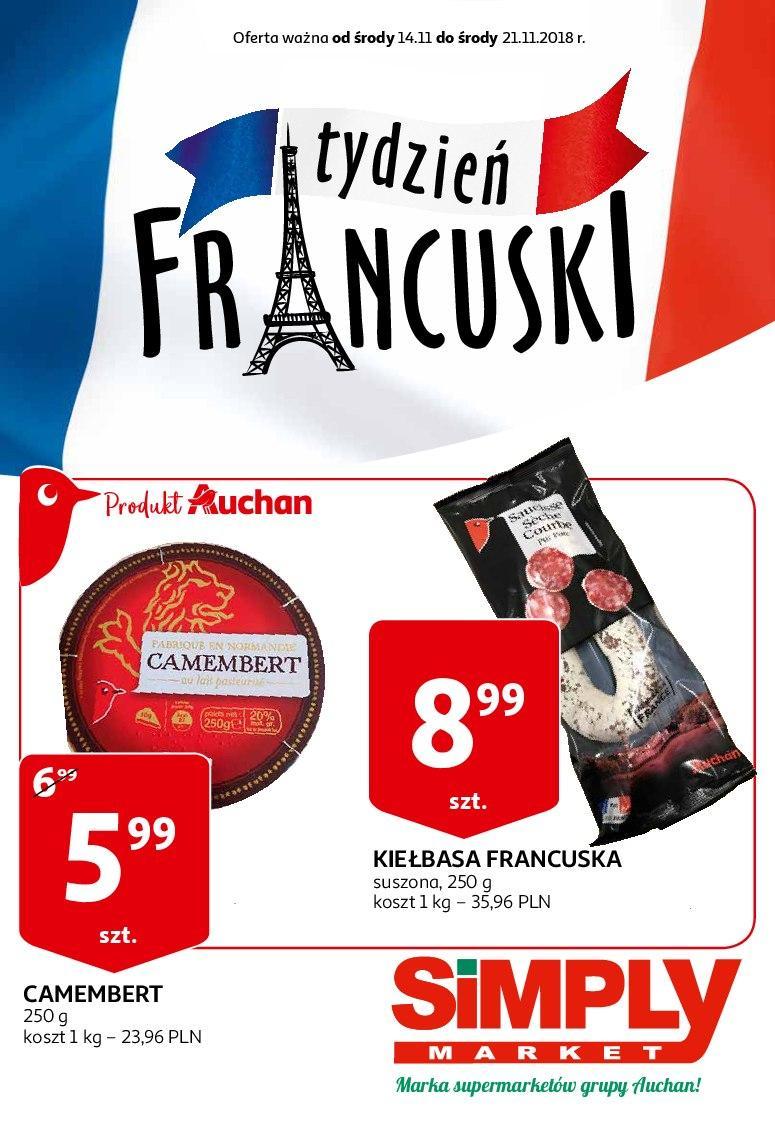 Gazetka promocyjna Simply Market do 21/11/2018 str.1