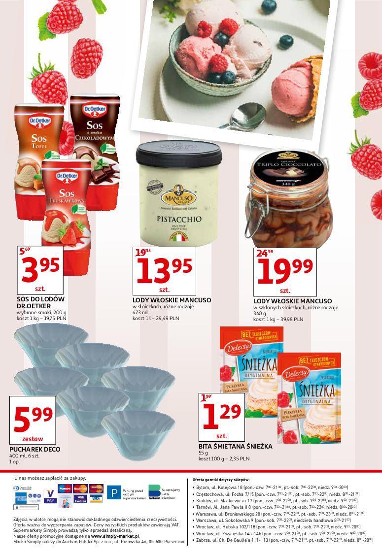 Gazetka promocyjna Simply Market do 18/07/2018 str.4