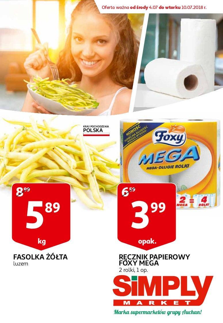 Gazetka promocyjna Simply Market do 10/07/2018 str.0