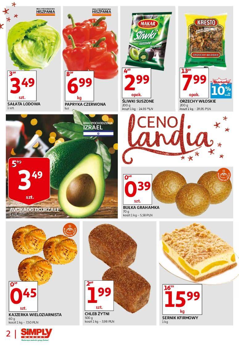 Gazetka promocyjna Simply Market do 28/11/2018 str.1