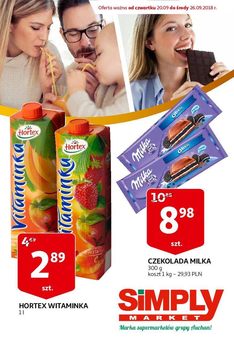 Gazetka promocyjna Simply Market do 26/09/2018 str.0