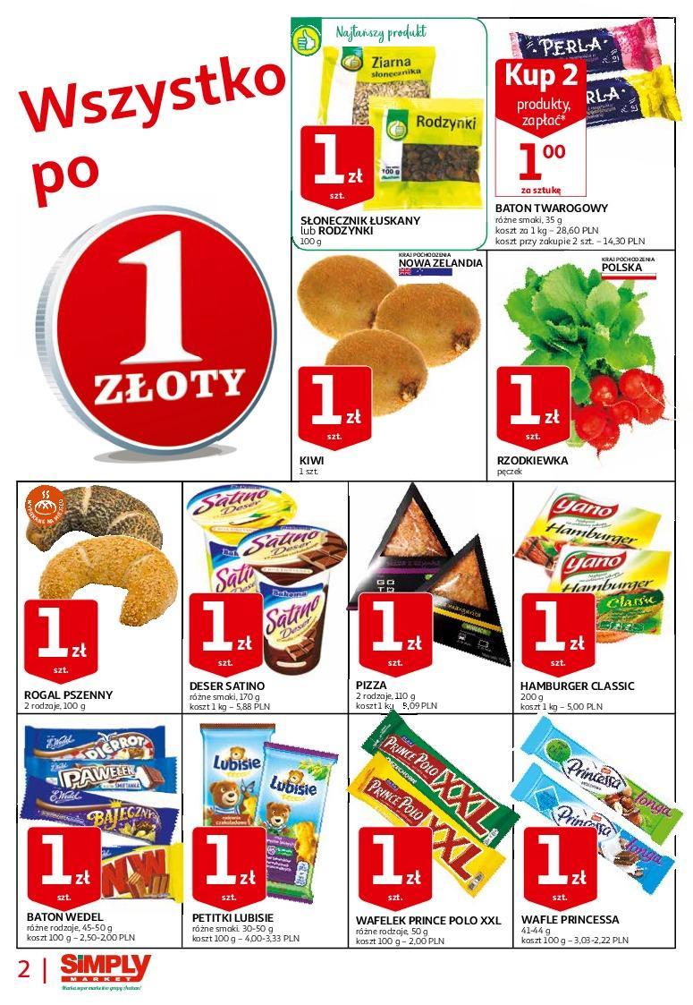 Gazetka promocyjna Simply Market do 07/09/2018 str.1