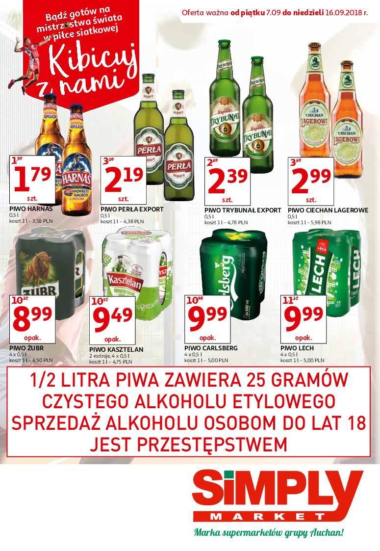 Gazetka promocyjna Simply Market do 16/09/2018 str.0