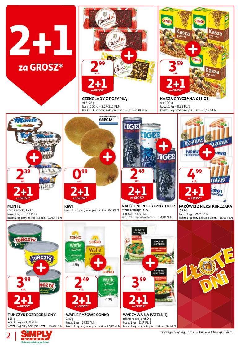Gazetka promocyjna Simply Market do 24/10/2018 str.1