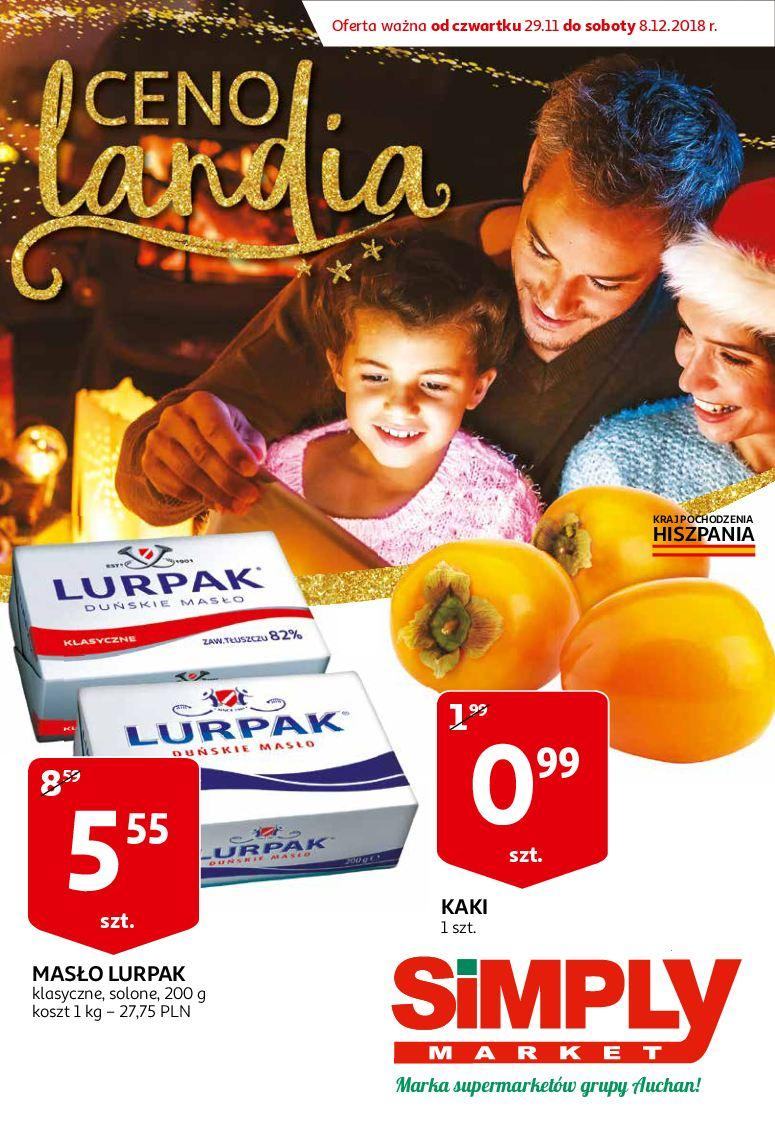 Gazetka promocyjna Simply Market do 08/12/2018 str.0