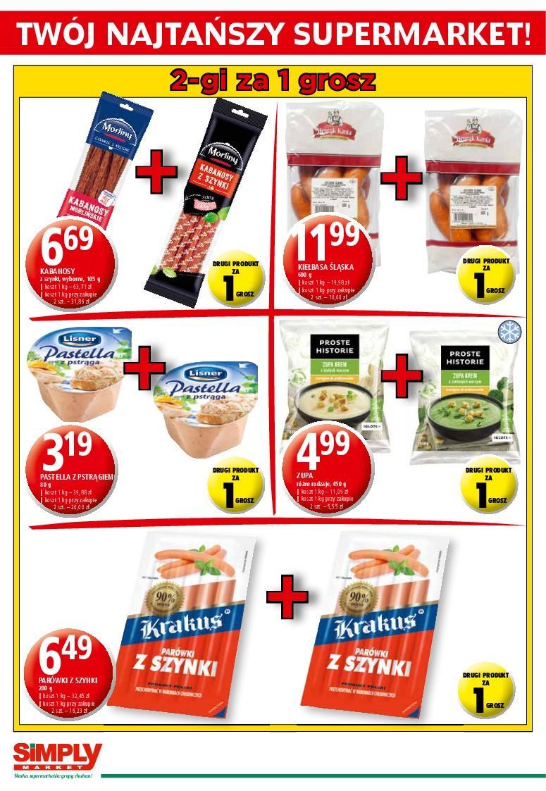 Gazetka promocyjna Simply Market do 18/01/2017 str.1