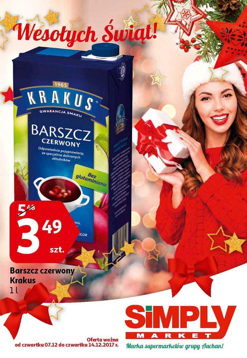 Gazetka promocyjna Simply Market do 14/12/2017 str.0