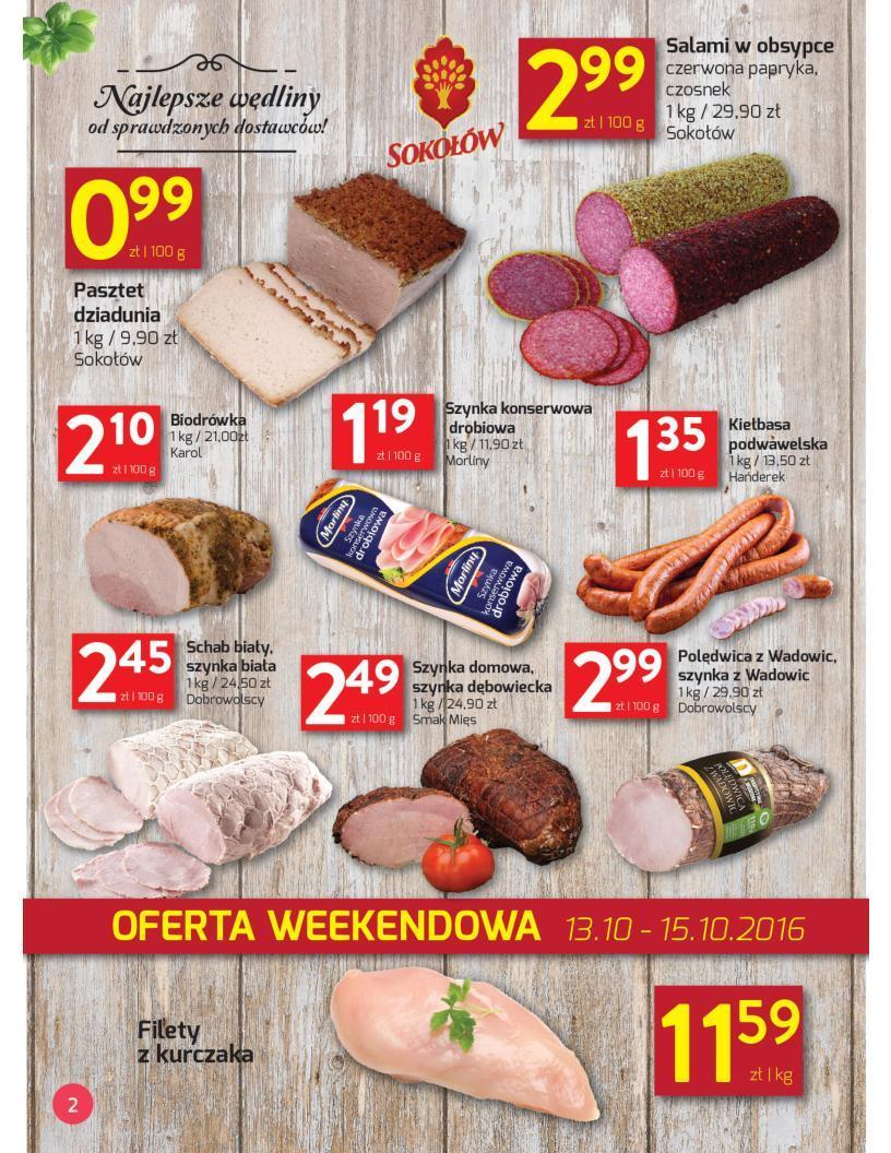 Gazetka promocyjna Spar do 23/10/2016 str.2